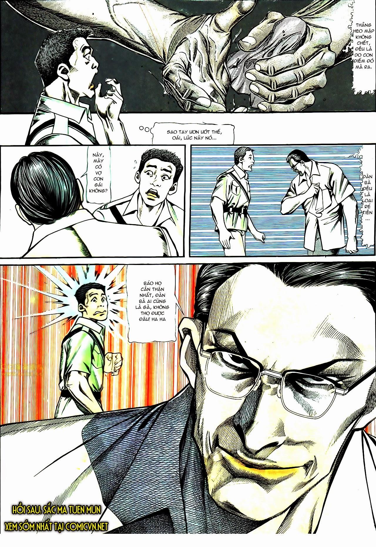 Người Trong Giang Hồ chapter 119: tù chung thân trang 28