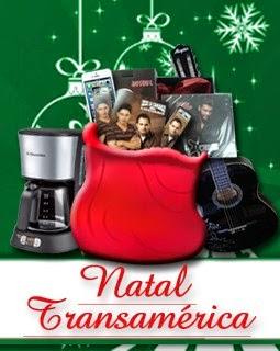 Promoção de Natal Transamérica - Concorra a super prêmios neste Natal!