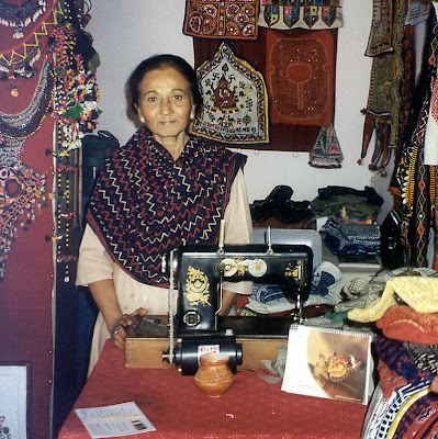 Ranju Mayecha who ran the Senorita Boutique in Bhuj