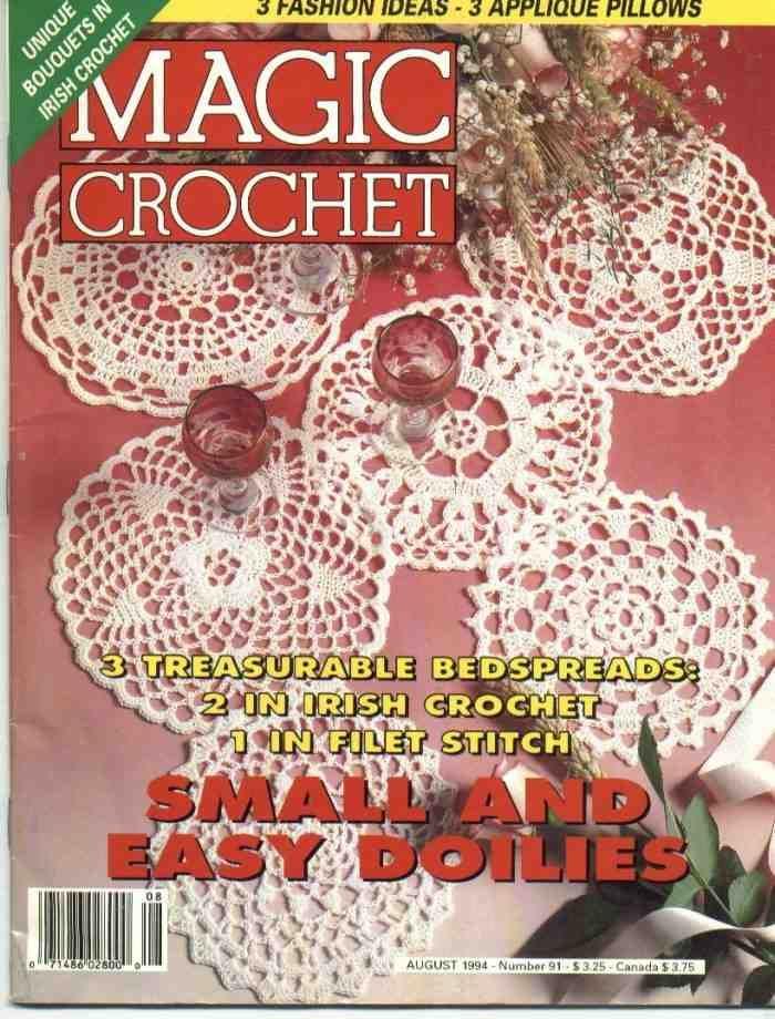 Magic Crochet No 91 Free Crochet Patterns