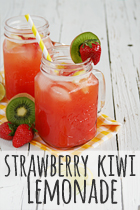 strawberry kiwi lemonade rezept
