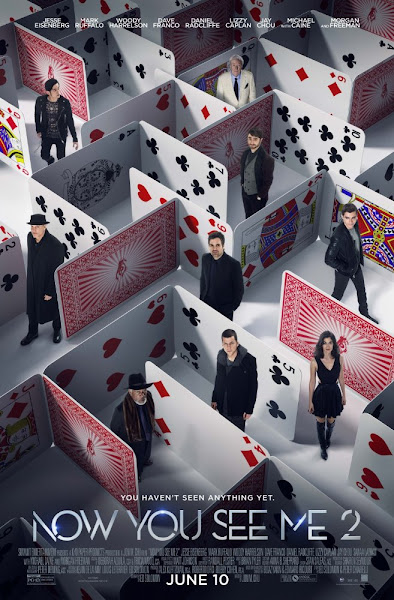 Poster Of Now You See Me 2 (2016) 720p BRRip Full Movie Download With ESubs