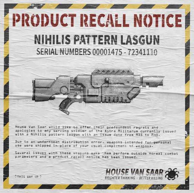 Rifle Nihilis Van Saar