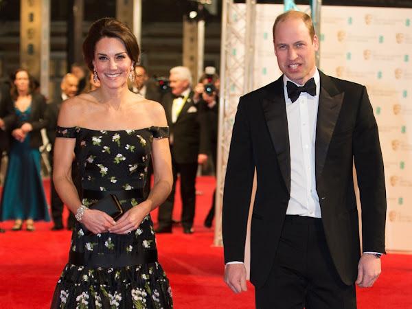 Książe i księżna Cambridge na BAFTA!