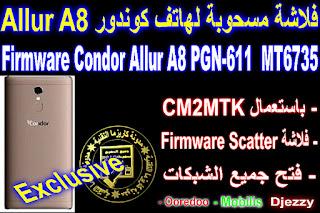 Firmware-Condor-Allure-A8-PGN-611-MT6735