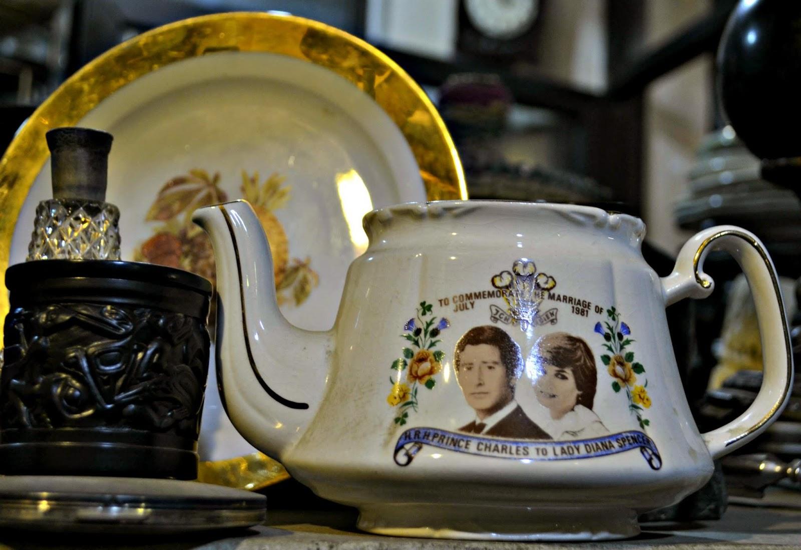 royal wedding teapot