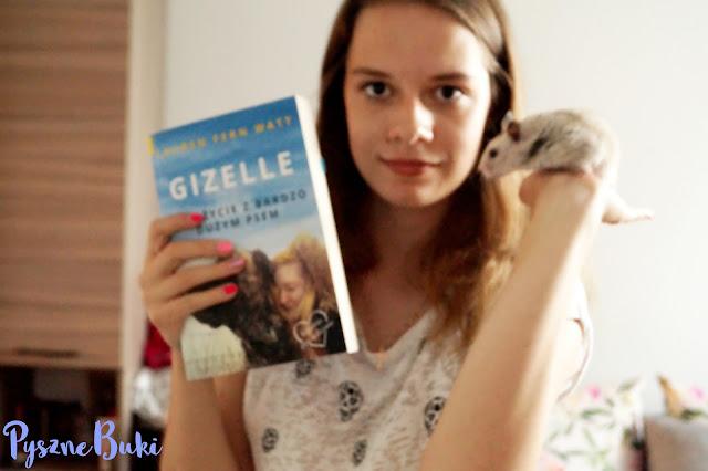 [5] Gizelle. Moje życie z bardzo dużym psem - Lauren Fern Watt