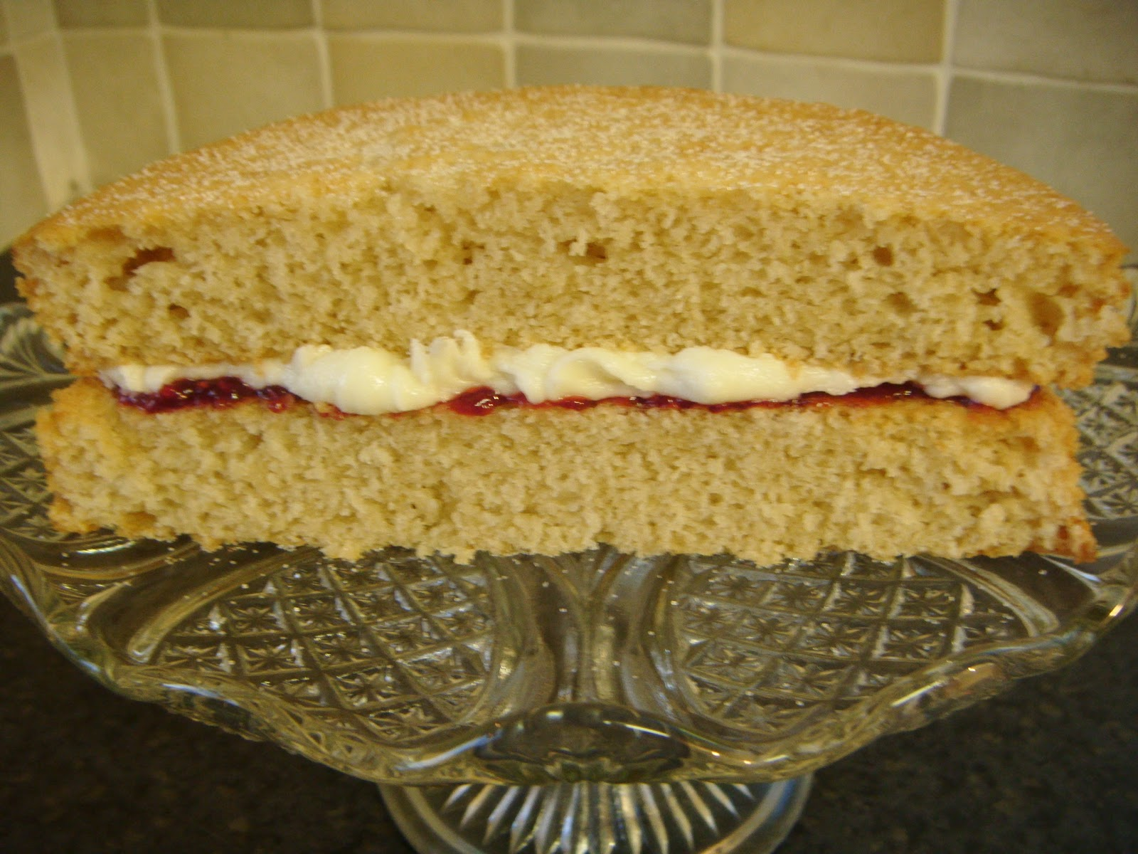 Dairy Free Sponge Cake Recipes Uk: We Don't Eat Anything With A Face: Vegan Victoria Sponge Cake