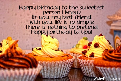Birthday Wishes For Best Friend