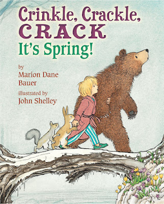 Crinkle, Crackle, Crack: It's Spring!, part of children's book list about spring and changing seasons