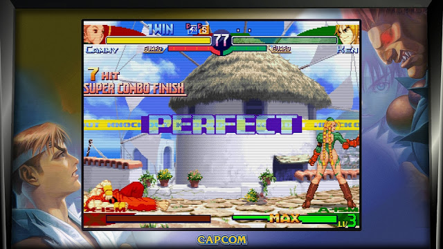 Street Fighter 30th Anniversary Collection - Street Fighter Alpha 3 - Cammy VS Ken