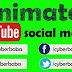 Animated social media icons effect for youtube video in hindi