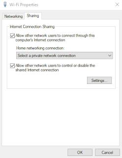 Cara Sharing Hotspot / Tethering Wifi di Laptop dengan Mudah Menggunakan CMD