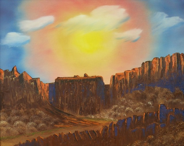 Американский художник. Aaron Thomas 2