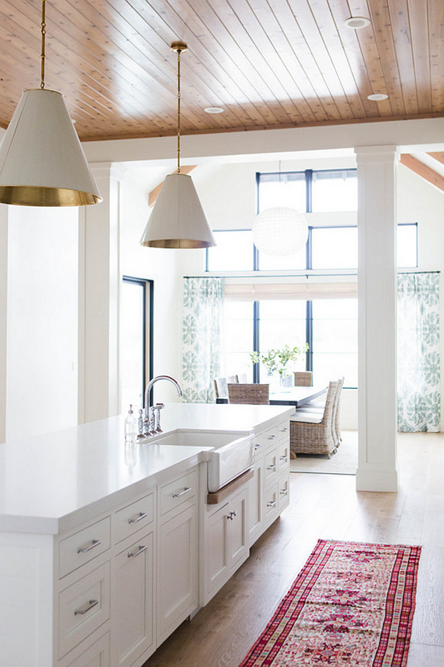 Brightsides goodman pendant lighting get this look for less - Functional kitchen island with sink ...