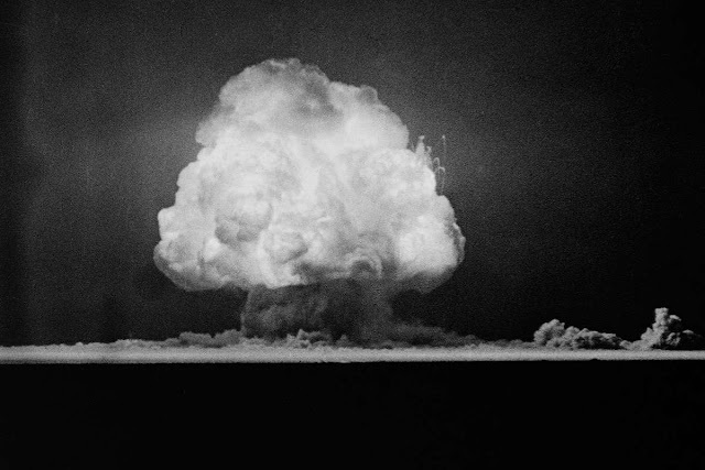 primeiro teste nuclear, trinity, bomba atômica, teste nuclear, bombas nucleares