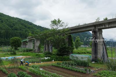 福島 只見町 叶津 日本の風景