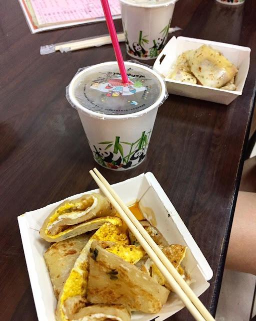 Breakfast in Taipei