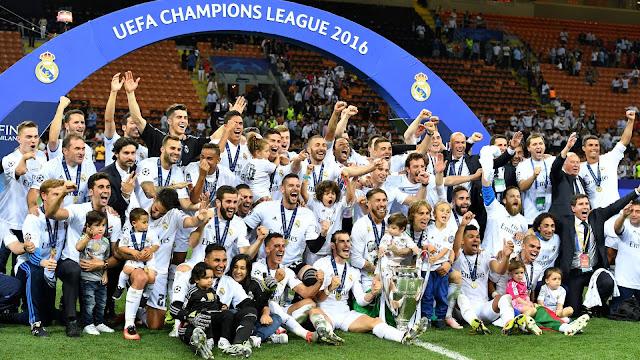 Os maiores campeões da UEFA Champions League