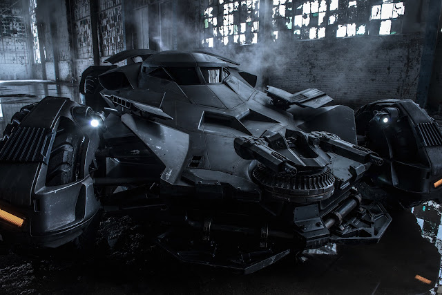 Batman v Superman: Dawn of Justice Zack Snyder reveals Batmobile from Batman v Superman: Dawn of Justice