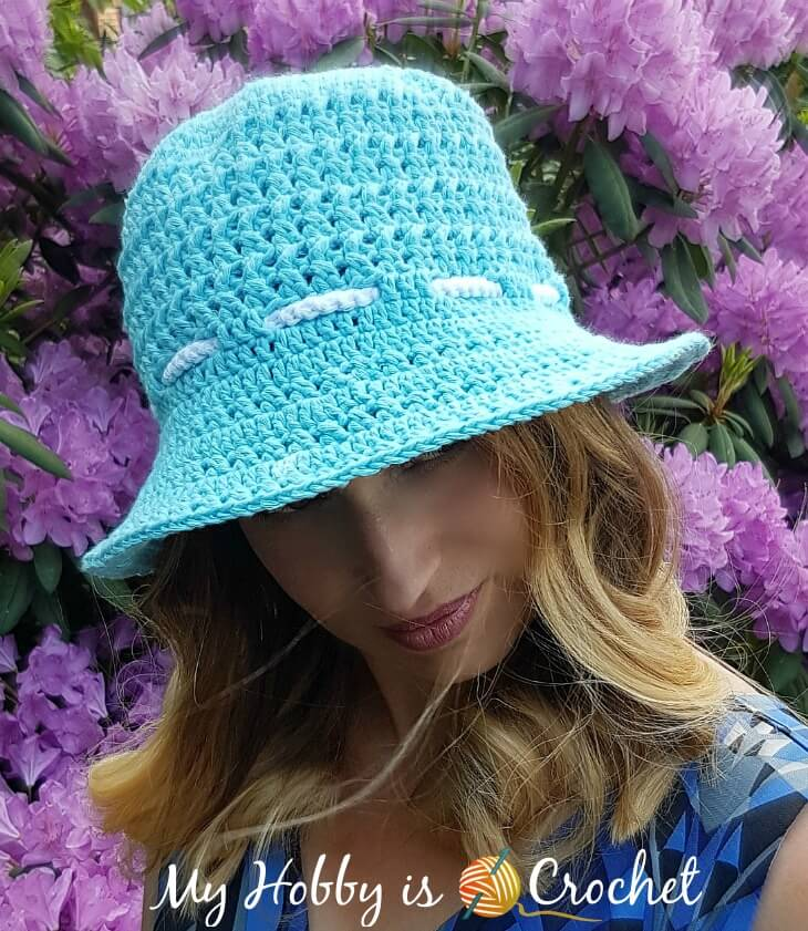 Let the Sun Shine Sun Hat - Free Crochet Pattern