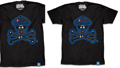 "Pac-Man ""Snack-Man Crossbones"" T-Shirt by Johnny Cupcakes"