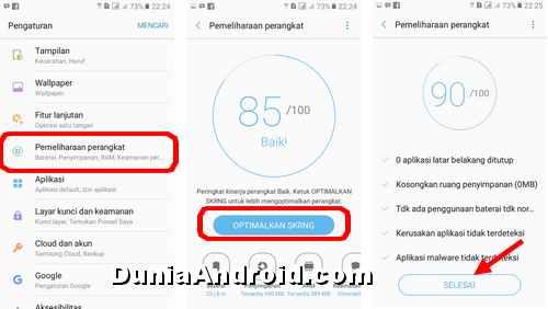 Cara Menghapus Cache Di Hp Samsung J2 Prime Dunia Android