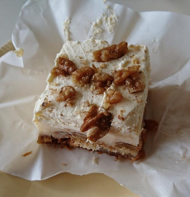 Nikos Cakes, Oakleigh, walnut custard pastry