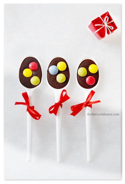 cucchia al cioccolato ricetta