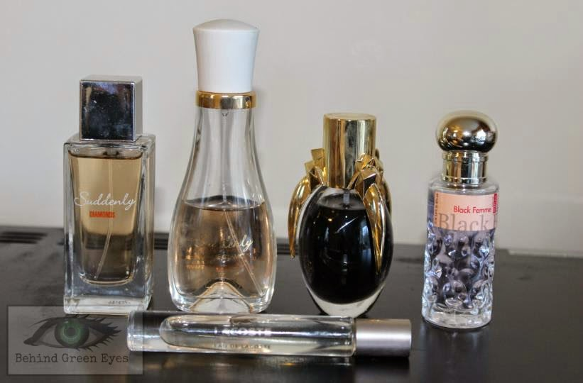 Behind Green Eyes My Current Perfume Collection