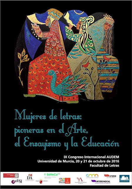 """""""Mujeres de letras: pioneras en el arte, el ensayismo y la educación""""."""