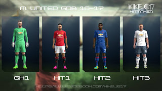 Manchester United Kits 2016-2017 Pes 2013 By Kikejg