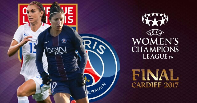Final da Champions League feminina 2017 será francesa