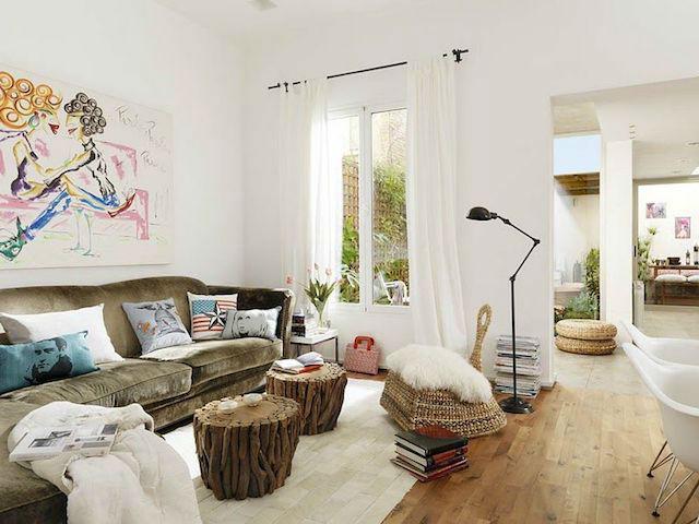 Reformar un piso para que parezca una casita ibicenca