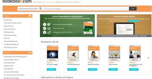 Kostenlose ebooks f r studenten zum download freeware for Klassisches haushaltsbuch