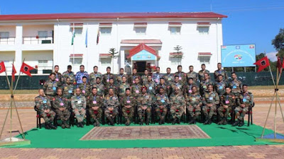 First IMBAX-2017 Military Exercise Begins in Meghalaya
