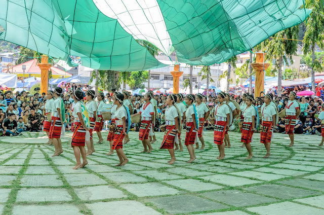 Ethno-Indigenous Youth Cultural Dance Presentation 13th Lang-Ay Festival Bontoc Mountain Province Cordillera Administrative Region Philippines