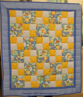 double four-patch quilt