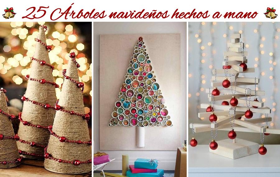 25 rboles de navidad muy creativos hechos por vos m s - Decoracion de navidad casera ...