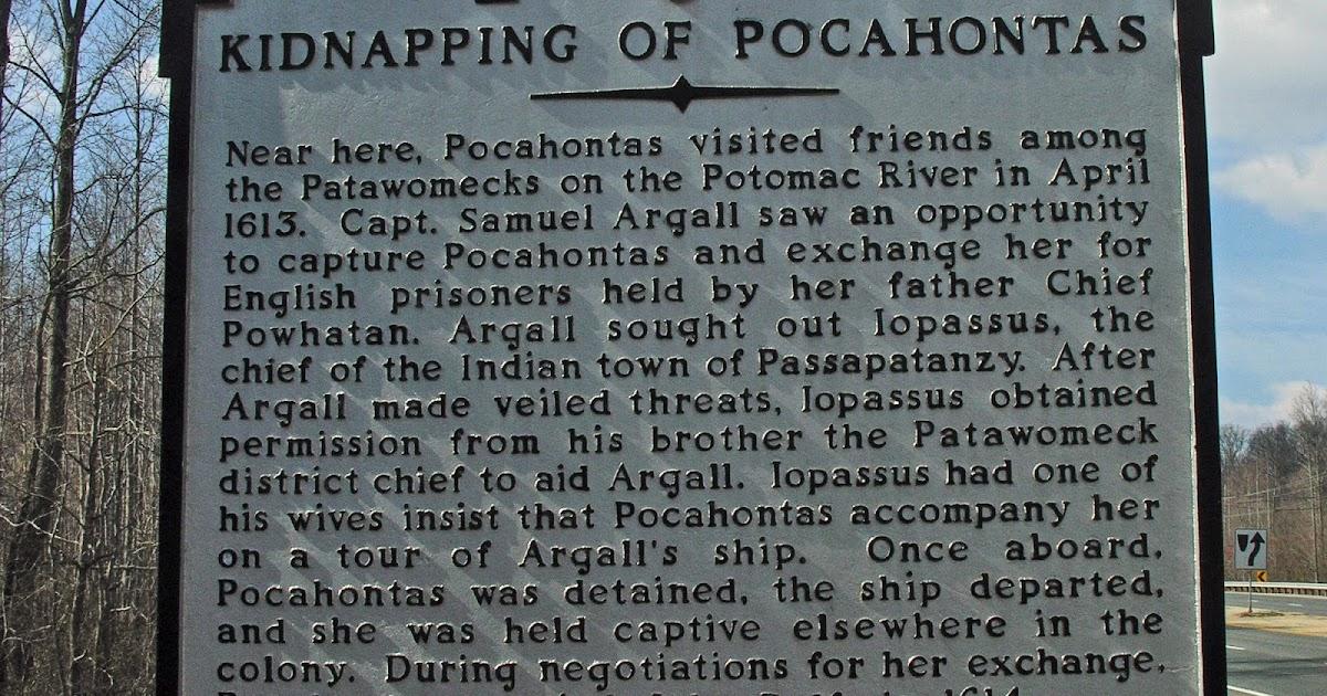 Landmarks: The Kidnapping Of Pocahontas