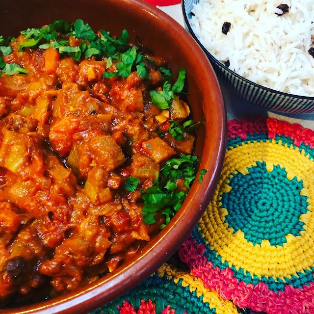 vegetarian curry, vegan curry