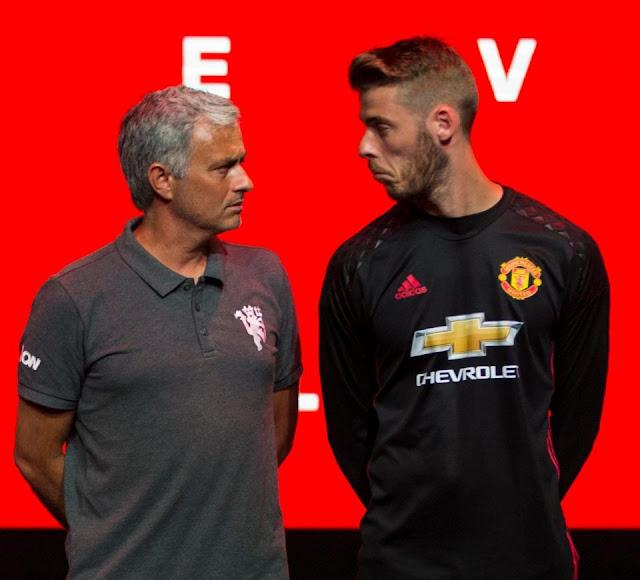 Jose Mourinho Tidak Ingin Lepas David De Gea