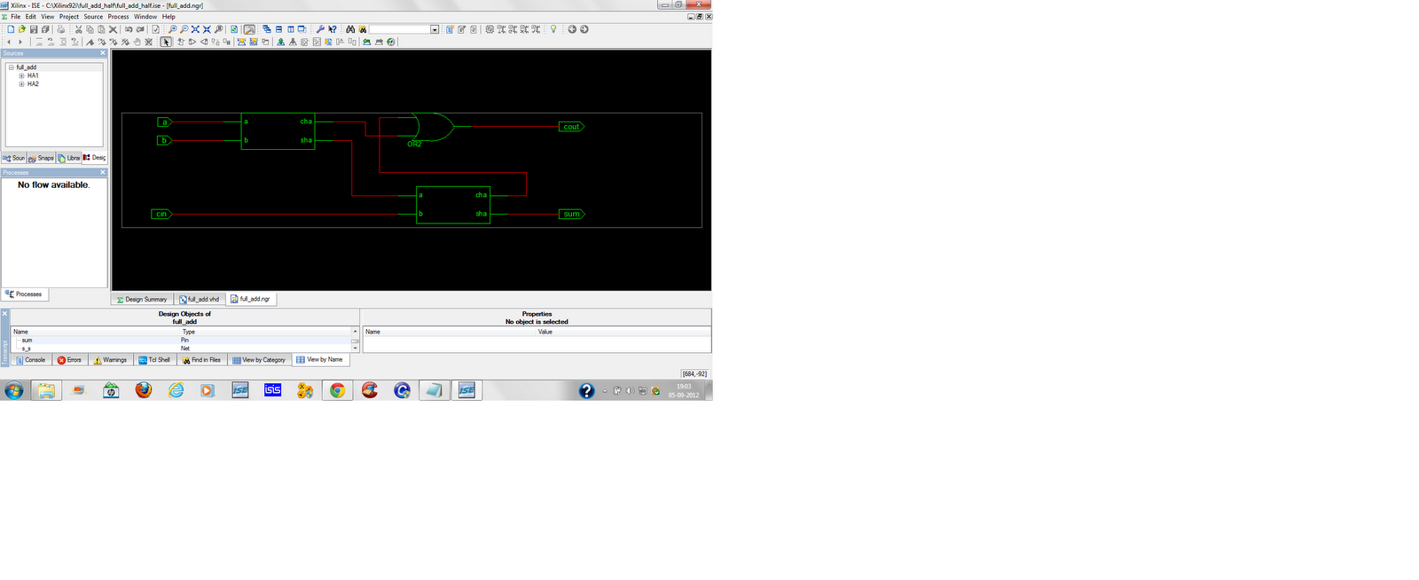Full Adder Using Half Electronics In Our Hands Block Diagram Of How The Rtl And Technology Schematic Looks Like