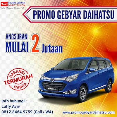 Promo Daihatsu Sigra Paling Murah - Dealer Daihatsu Jakarta Timur
