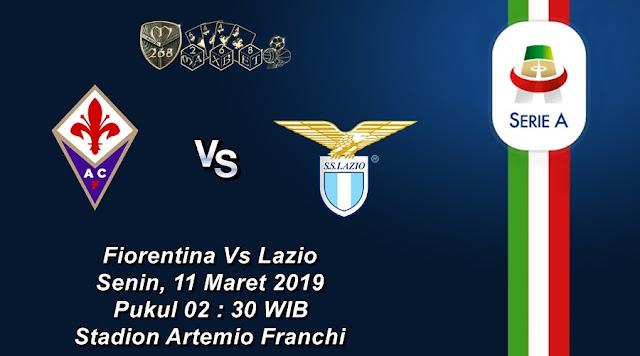 Prediksi Fiorentina Vs Lazio, Senin 11 Maret 2019 Pukul 02.30 WIB