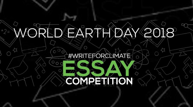 World-Earth-Day-Write4climate-Essay-Competition-2018 World Earth Day #WRITE4CLIMATE 2018 ESSAY COMPETITION