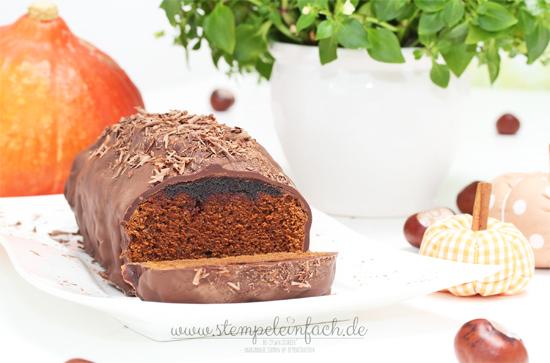 Lebkuchen-mit-Kürbis-Marmelade-Rezept