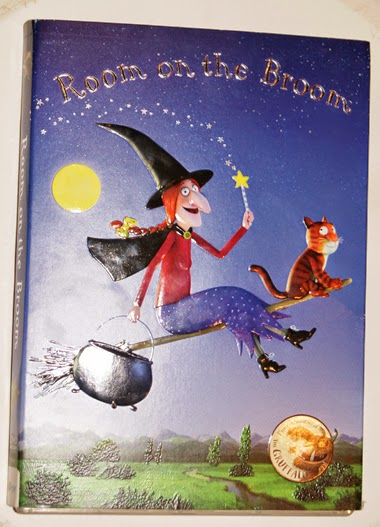 Room on the Broom on DVD