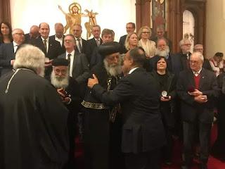 قداسة البابا تواضروس الثاني يدشن كنيسة العذراء في مدينة دوسلدورف بحضور سفير مصر بألمانيا