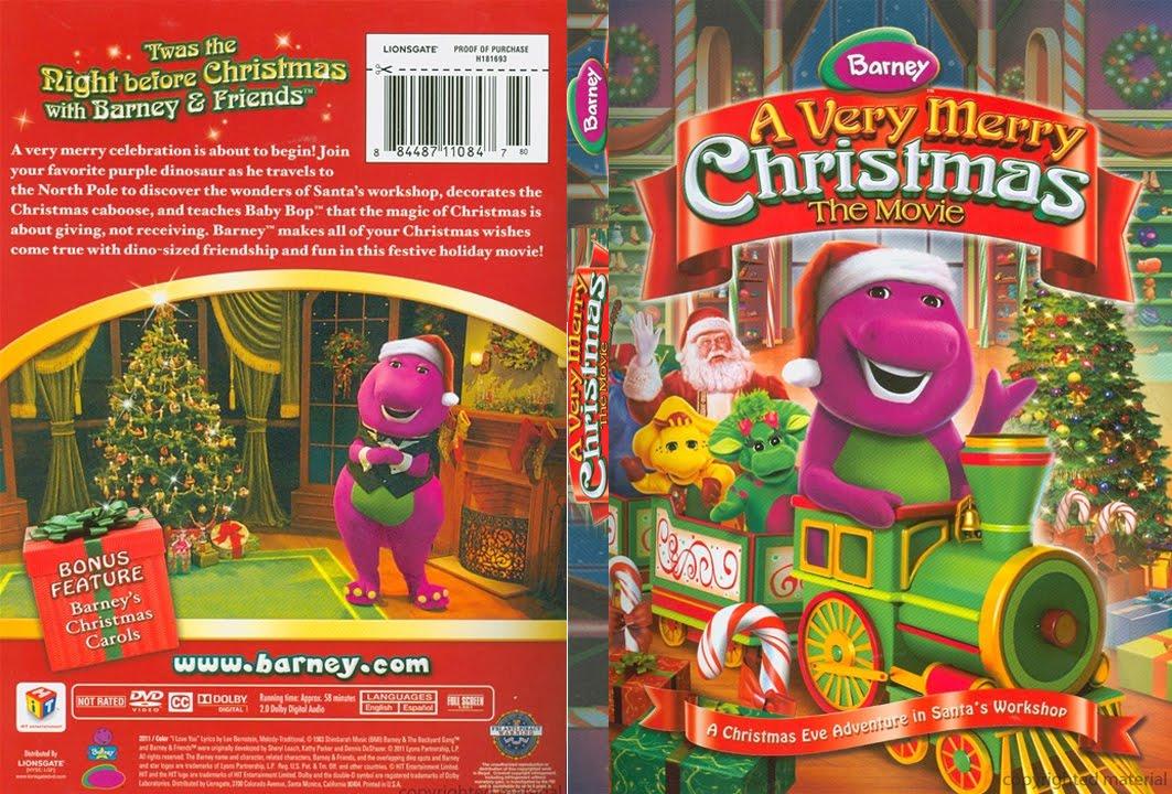 Barney A Very Merry Christmas The Movie Dvd.Barney A Very Merry Christmas The Movie